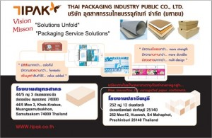 THAI PACKAGING INDUSTRY PUBLIC CO., LTD.